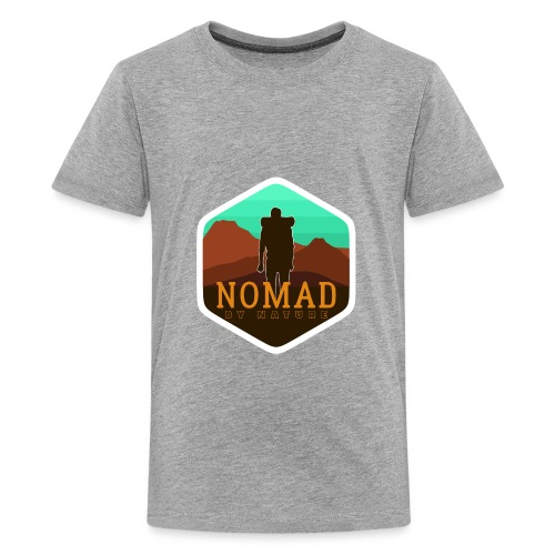 Nomad By Nature - Teenager Premium T-Shirt