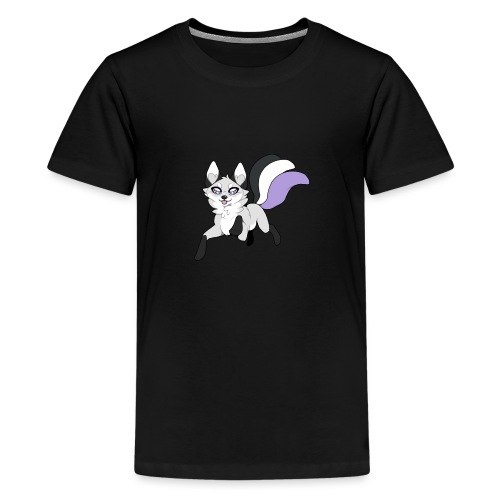 Ace fox - Teinien premium t-paita