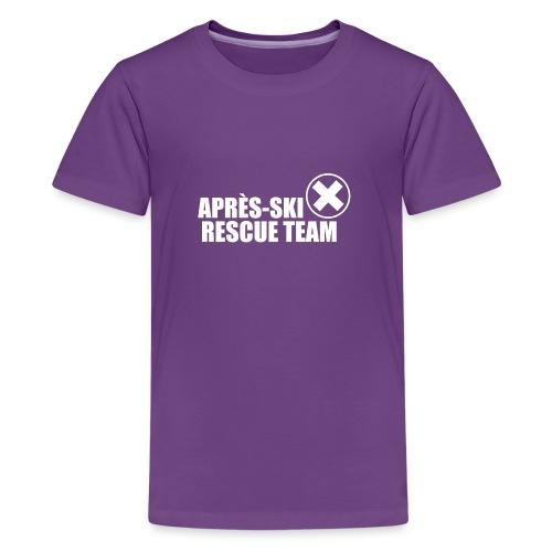 APRÈS SKI RESCUE TEAM 2 - Teenager Premium T-shirt