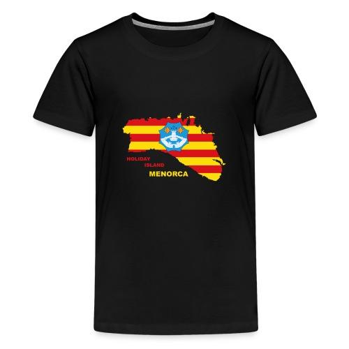 Menorca Urlaub Insel Spanien Balearen - Teenager Premium T-Shirt
