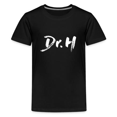 Sweat femme col bateau Dr. H - T-shirt Premium Ado
