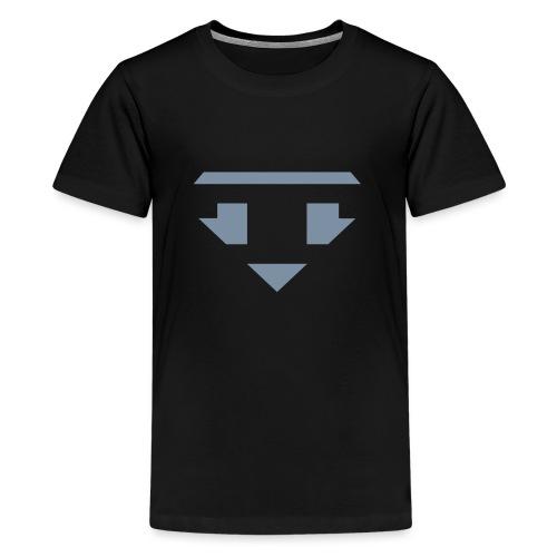 Twanneman logo Reverse - Teenage Premium T-Shirt