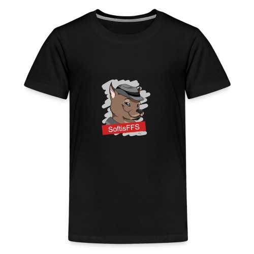 klaracollection-hundsofti - Premium-T-shirt tonåring