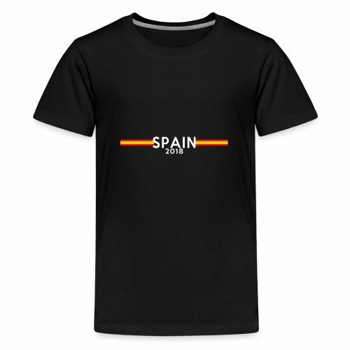 Spainen - Premium-T-shirt tonåring