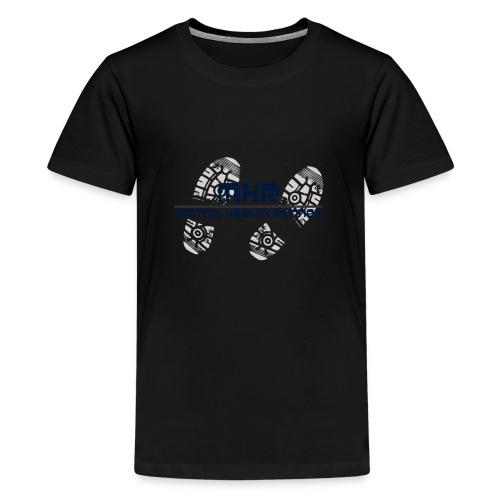 Mentalhealthrunner logo - Teenage Premium T-Shirt
