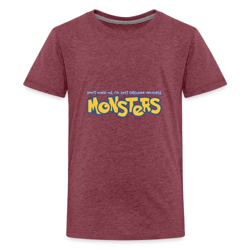 Monsters - Teenage Premium T-Shirt