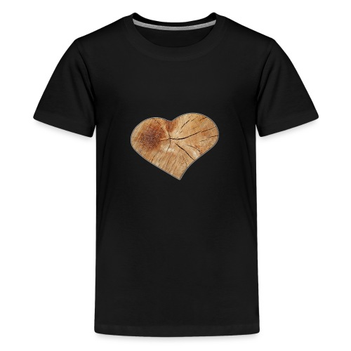 Heart_Wood_Isle - Teenage Premium T-Shirt