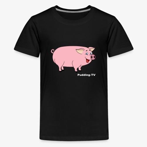 Gris - Premium T-skjorte for tenåringer