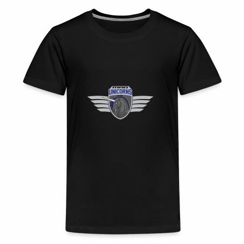 Mad Unicorns Bright - Teenager Premium T-Shirt