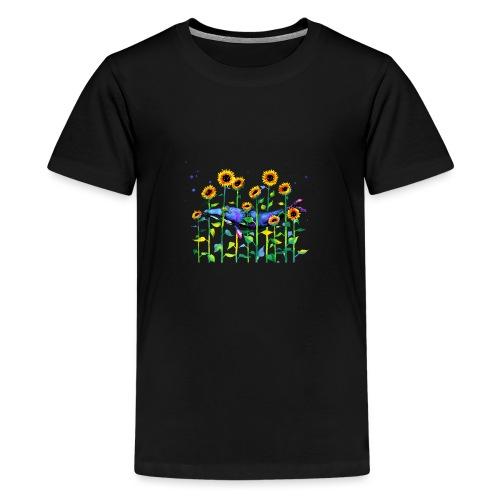 wandering whale - Teenage Premium T-Shirt