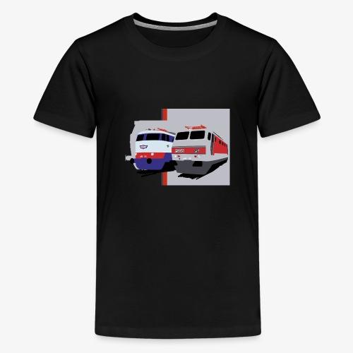 FS E444 / E444R - Maglietta Premium per ragazzi