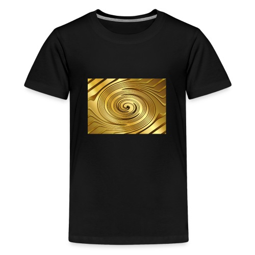 spirale d'oro - Maglietta Premium per ragazzi