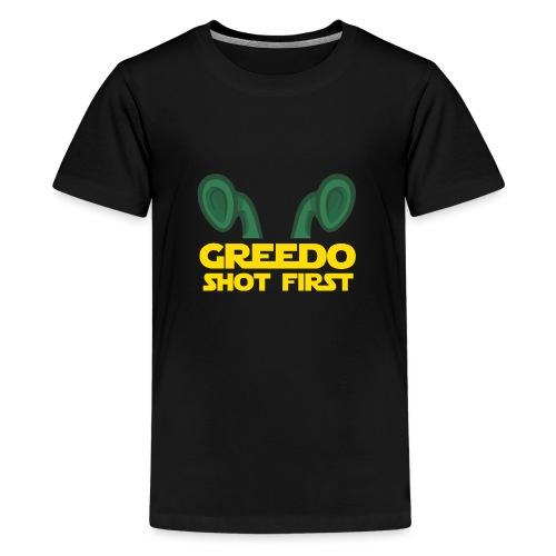 GreedoShotFirst 02 - Teenager Premium T-shirt