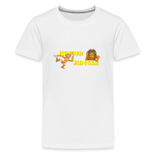 T-charax-logo - Teenage Premium T-Shirt