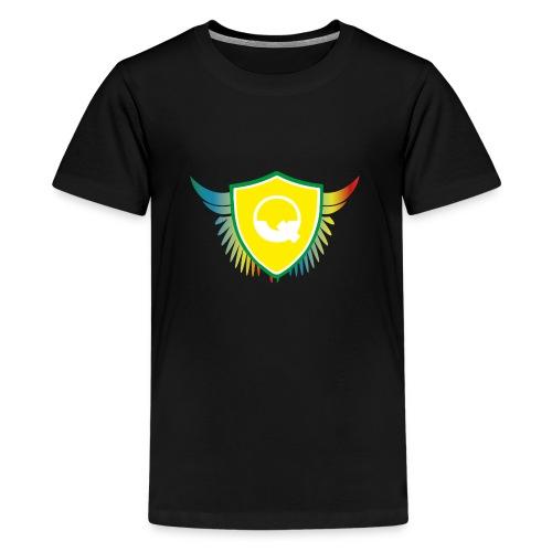 Logo Quicky Angel Color - T-shirt Premium Ado