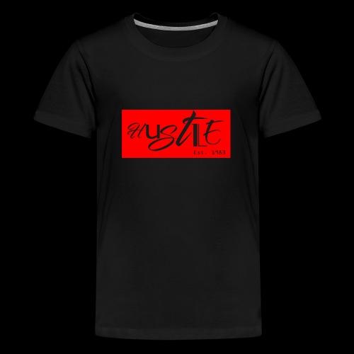 Hustle - Teenager Premium T-Shirt