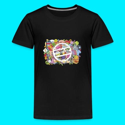 maglia logo doodle - Maglietta Premium per ragazzi