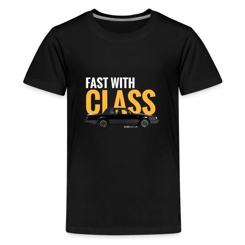 Fast with class* - T-shirt Premium Ado