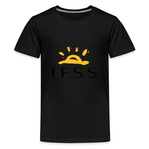 IFSS logga - Premium-T-shirt tonåring
