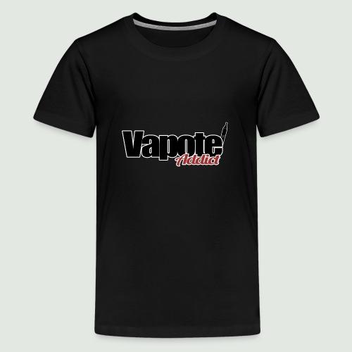 vapote addict - T-shirt Premium Ado