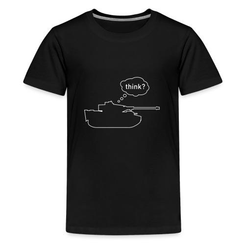 Think Tank - Premium T-skjorte for tenåringer