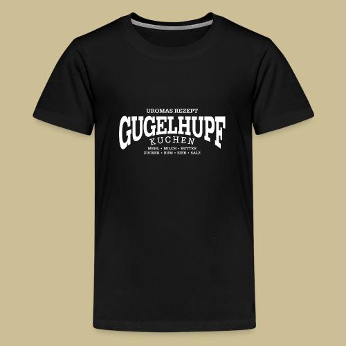 Gugelhupf (white) - Teenager Premium T-Shirt