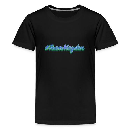 #TeamMayden - Camiseta premium adolescente
