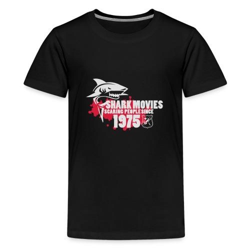 Shark Movies - Teenager Premium T-Shirt