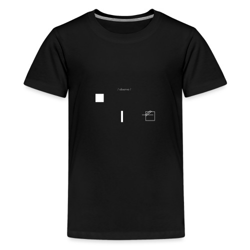 /obeserve/ sweater (M) - Premium T-skjorte for tenåringer
