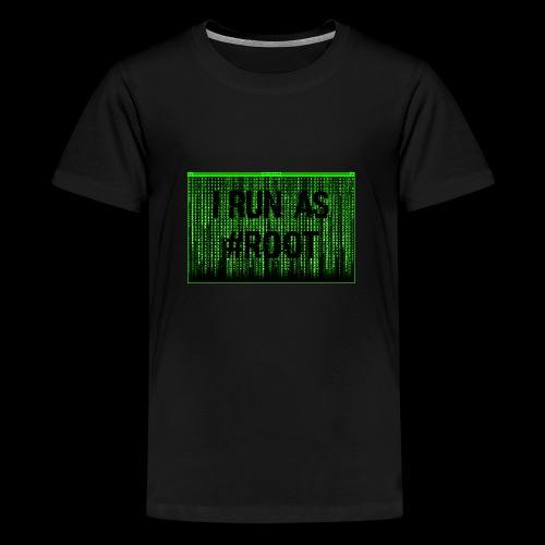 #ROOT - T-shirt Premium Ado