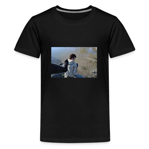 Fierce Kick - Premium T-skjorte for tenåringer