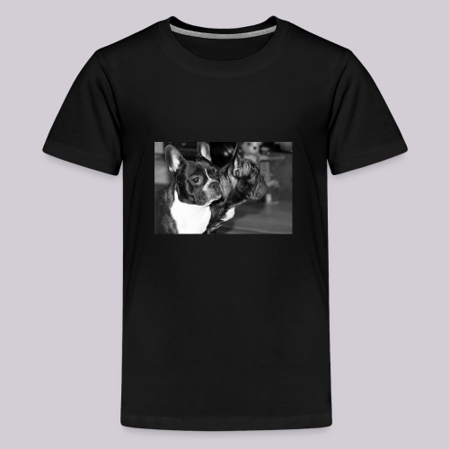 Frenchies - Teenage Premium T-Shirt