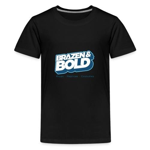 Brazen & Bold Shirt # 2 - Teenage Premium T-Shirt