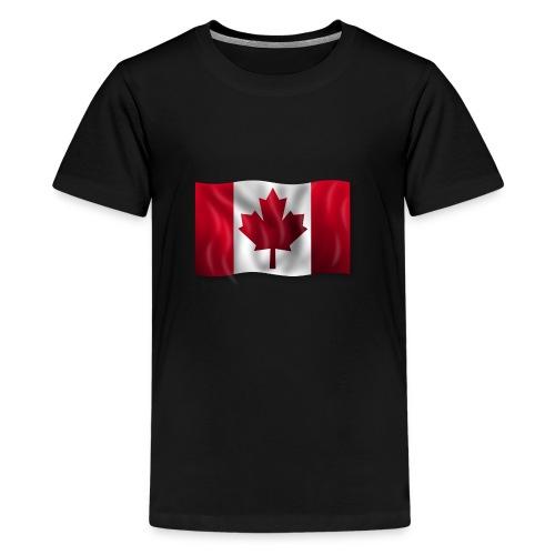 Canada Kanada Flagge cool stylish - Teenager Premium T-Shirt