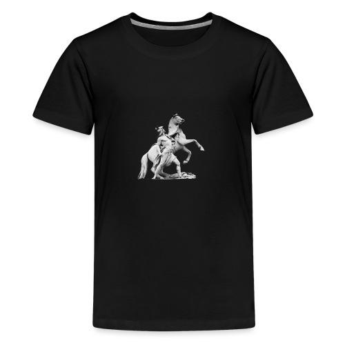 der Ritter - Teenager Premium T-Shirt