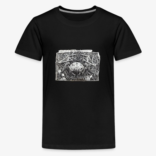 Mandible Death Operator - Teenage Premium T-Shirt