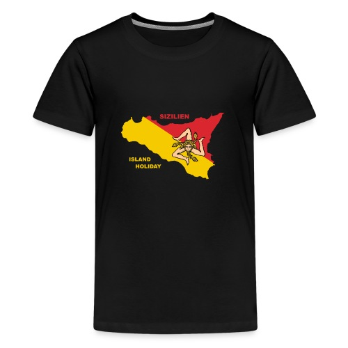 Sizilien Italien Holiday Sicily - Teenager Premium T-Shirt