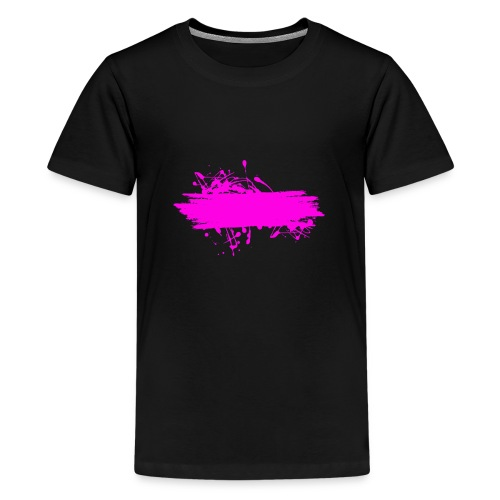 stain fuchsia - Camiseta premium adolescente