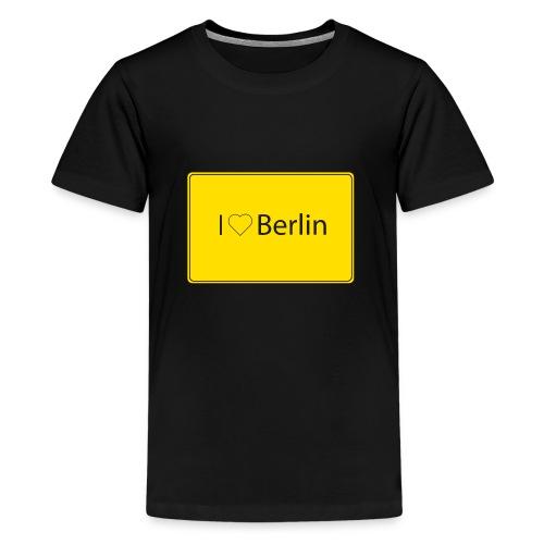 I love Berlin - Teenager Premium T-Shirt