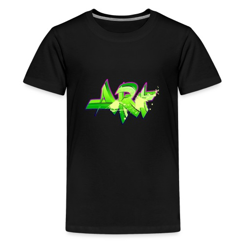old school hip hop breakdance 17 - Premium-T-shirt tonåring