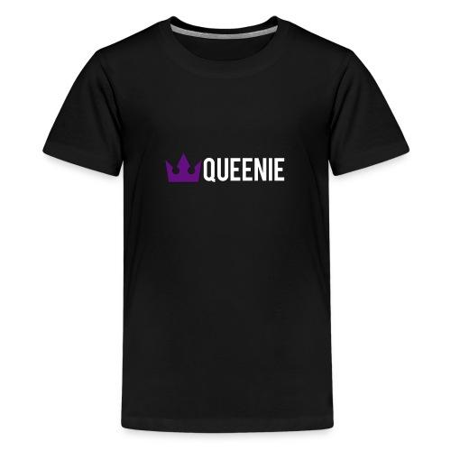 Queenie Logo - Teenage Premium T-Shirt