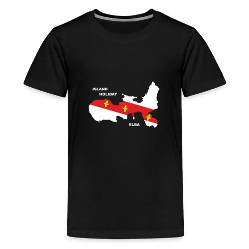 Elba Insel Urlaub Italien - Teenager Premium T-Shirt