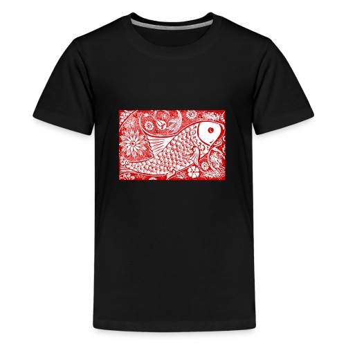 Fish in the sea - Teenager Premium T-shirt