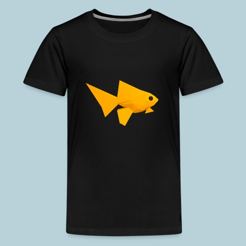 RATWORKS Fish-Smish - Teenage Premium T-Shirt
