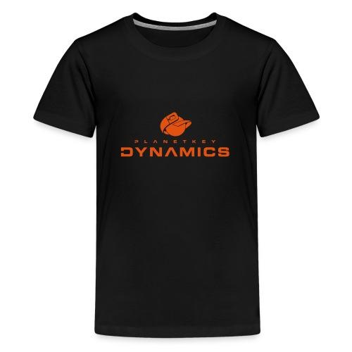pkd logo new - Teenager Premium T-Shirt