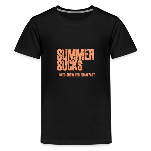 SUMMER SUCKS - Teenager Premium T-shirt
