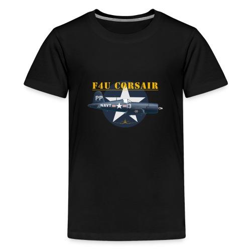 F4U-5P shirt design - Teenage Premium T-Shirt