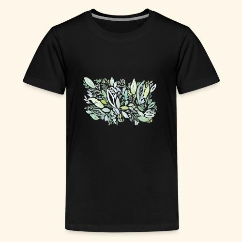herbs garden - Teenager Premium T-Shirt