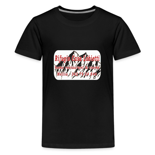 Rifugio Casa Lobietti - Maglietta Premium per ragazzi