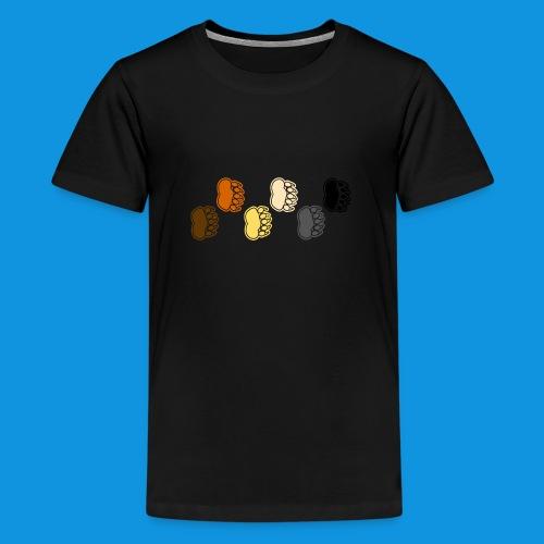 Bear Paws tank - Teenage Premium T-Shirt